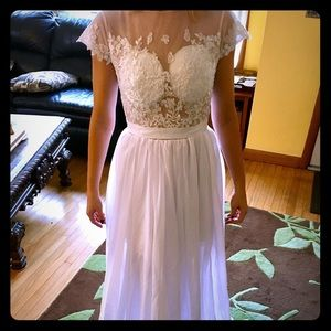 Wedding dress- brand new custom made